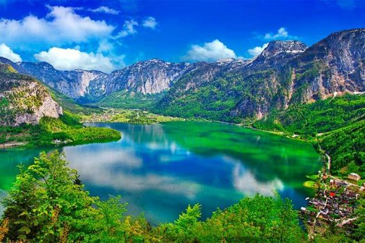 Alpine lake - Austria
