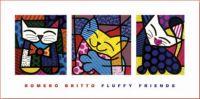 Romero Britto Fluffy Friends