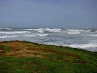 Roaring Surf At Fort Bragg, California