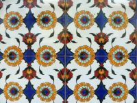 Colourful tiles in Christchurch - smaller version