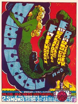 Vintage poster The Ark,   Sausalito, 1967