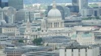 St Pauls London from the Eye