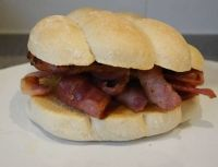 for Florrie - a bacon roll (Stage 5)