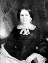 Mary Hannah Morris Bertrand about 1845