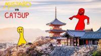MUSTARD VS CATSUP IN JAPAN