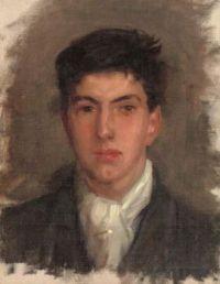 Henry Scott Tuke (British, 1858–1929), Portrait of Johnny Jackett