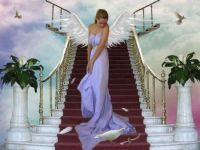 Angel on the Stairs