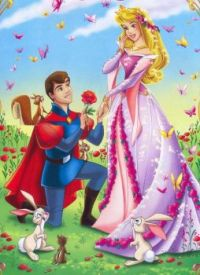 Princess Aurora and prins Philip
