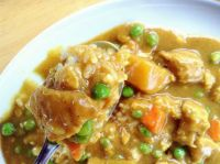 咖喱鸡肉盖饭 GāLíJīRòuGàiFàn : Chinese Curry Chicken