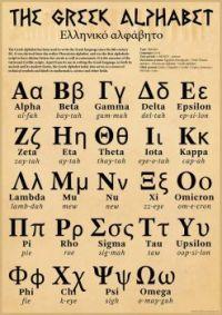 Edu - Greek Alphabet