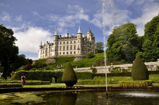 Dunrobin Castle, Backies, Highland, Scotland.  Photo by Stuart Wilding