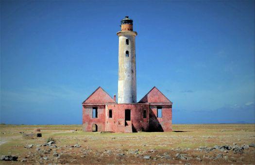 Abandoned lighthouse, Curacao