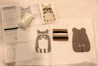 Embroidery Raccoon Kit
