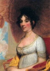 Dolley Madison, wife of President James Madison