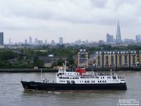 MV HEBRIDEAN PRINCESS on the Thames