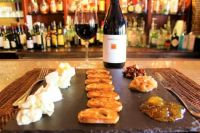 """""""Top Wines For Spring"""" with makings for Garlic Bread and a Cheese Plate"""