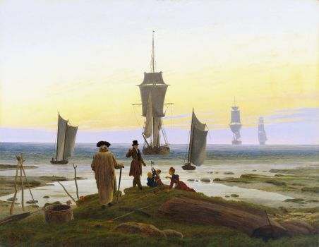 Caspar David Friedrich - The Stages of Life (1835)