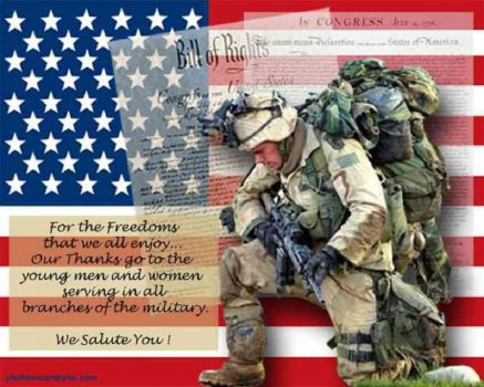THEME ~ Honoring The Military