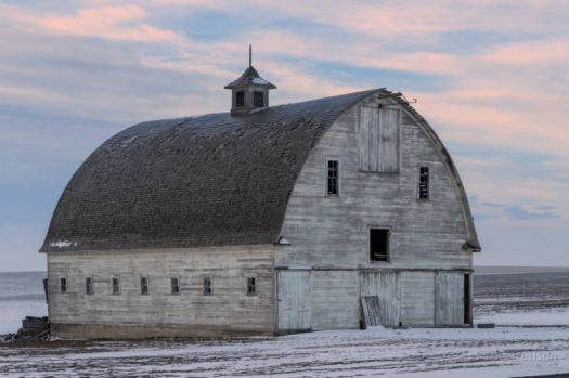 Old Barn In The Morning....