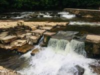 River Swale at Richmond, North Yorkshire, England