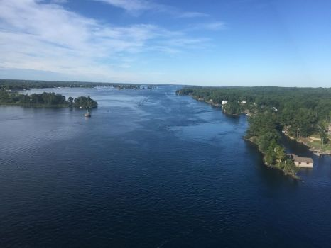 St Lawrence from the 1000 Islands Bridge