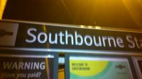 Southbourne Station Sign