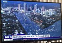 Super Bowl Boat Parade of Champions 2/10/21