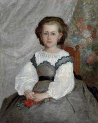 Pierre-Auguste Renoir (French, 1841–1919), Romaine Lacaux (1864)