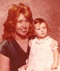 My granddaughter & myself   August 1980
