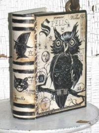 Paper Mache' Spell Book