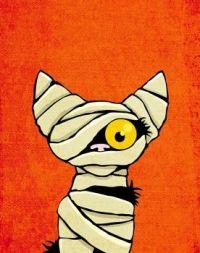 Mummy Cat Costume