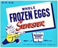 Themes Vintage ads - Whole Frozen Eggs Sylvester 1930`s