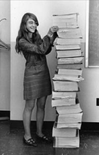 Margaret Hamilton and the Apollo code