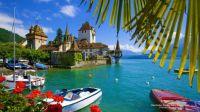 Oberhofen Castle Bern Switzerland