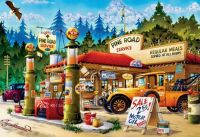 Pine Road Service Station, a 2000 piece puzzle by Buffalo Games