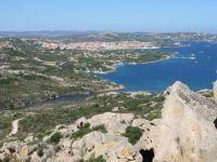 View of Palau from Capo d'Orso, Sardinia