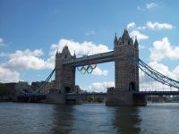 Tower of London with Olympic Rings