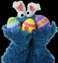 Easter Cookie Monster