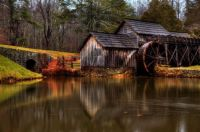 Mabry Mill, on The Blueridge Parkway