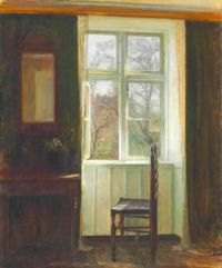 Carl Vilhelm Holsøe (1863–1935), The Open Window