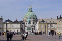 Amalienborg Palace and the Marble Church, Copenhagen