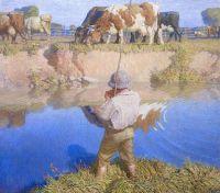 September Afternoon, 1916, N. C. Wyeth (1882-1945)