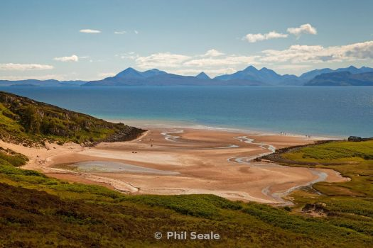 Beach in the Scottish Highlands