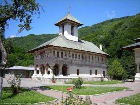 church Lainic-Romania