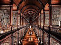 The Long Hall in Trinity Dublin
