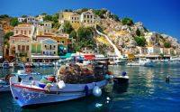 Greek Fishing Village