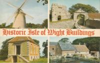 Postcard & envelope pictures 034 - Isle of Wight (Historic buildings)