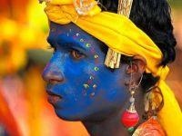 Demsa dancer in India