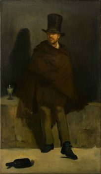 Absinthe #7 - Manet, The Absinthe Drinker - seventh in a series