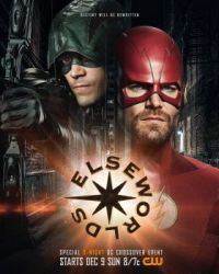 DC CW ELSEWORLDS CROSSOVER EVENT--BARRY as ARROW and OLLIE as FLASH !